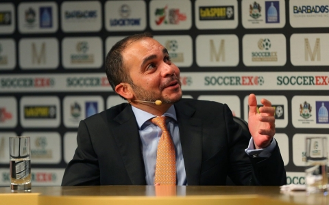 Thumbnail image for FIFA VP Prince Ali launches presidential bid against Blatter