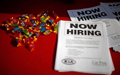 Thumbnail image for US gains 252K jobs as unemployment falls to 5.6 percent
