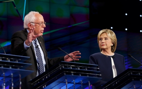 Thumbnail image for Civil tone aside, Democratic debate exposes rifts on key liberal issues