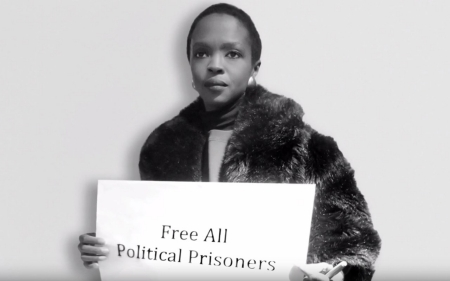 Lauryn Hill joins black, Palestinian activists in solidarity video