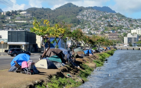 Thumbnail image for Governor of Hawaii declares state of emergency for homelessness
