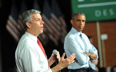 Education Secretary Duncan to step down