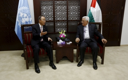 UN's Ban calls for calm during Mideast visit, but violence continues