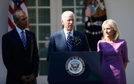 Biden says will not run for president, leaves Clinton in pole position