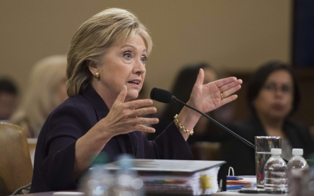 'We should debate on fact, not fear': Clinton testifies on Benghazi