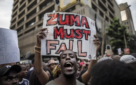 South Africa's Zuma nixes tuition hike amid #FeesMustFall protests