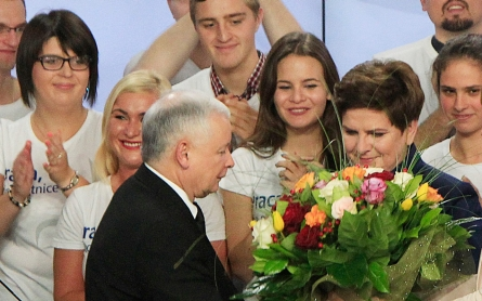 Exit poll: Poland takes sharp right with vote