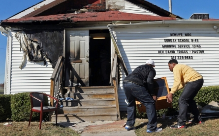 Arrest made over string of St. Louis-area church arsons