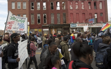 FBI spy planes flew 10 times over Freddie Gray protests, documents show