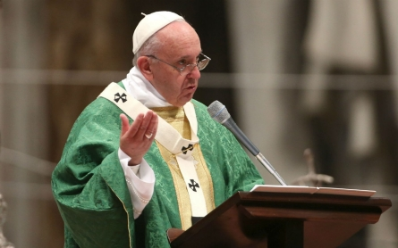 Pope defends hetero marriage as he opens synod