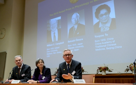 Thumbnail image for Scientists share Nobel Prize for medicine for anti-parasite drugs