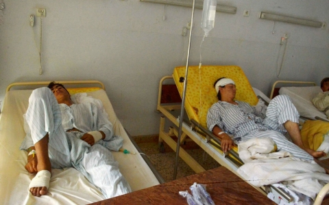 Thumbnail image for US says Afghans requested airstrike that struck Kunduz hospital