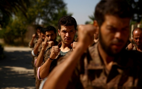 Thumbnail image for Syria rebels proclaim unity against Russian fire