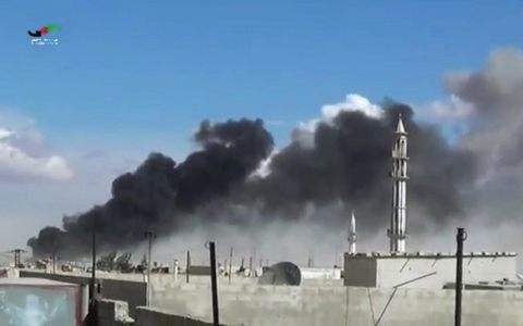 Thumbnail image for Russia strikes three medical facilities in Syria, says NGO