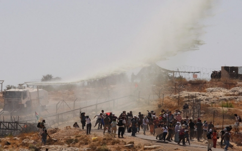 Thumbnail image for What is Skunk spray Israel uses against Palestinians?