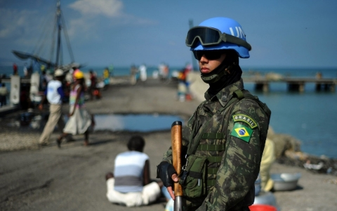Thumbnail image for UN wants another year for Haiti peacekeeping mission