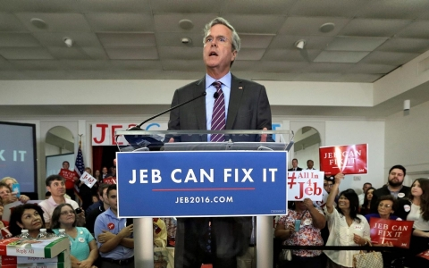 Thumbnail image for Super PAC aims to fix Jeb Bush