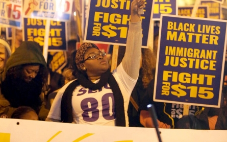 Fast food strikers declare debate win despite opposition of GOP hopefuls