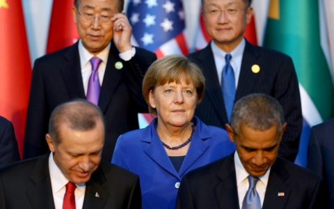 Thumbnail image for At G-20 summit shadowed by Paris, Obama and Putin discuss Syria, Ukraine