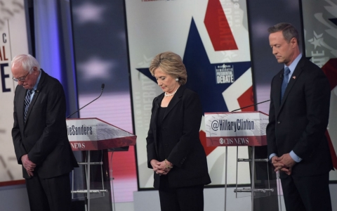 Thumbnail image for In post-Paris debate, Hillary Clinton gets religion