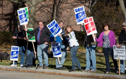 Kohler workers strike for higher pay, end of two-tier wages