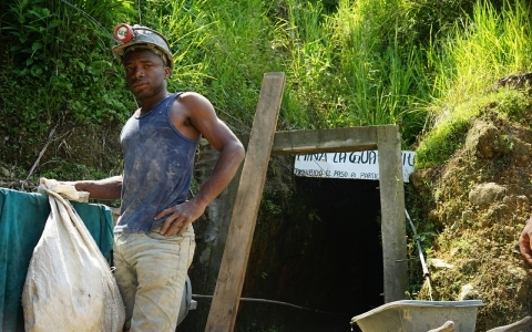 Colombia gold miner