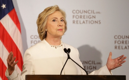 Clinton calls for 'intensification and acceleration' of fight against ISIL