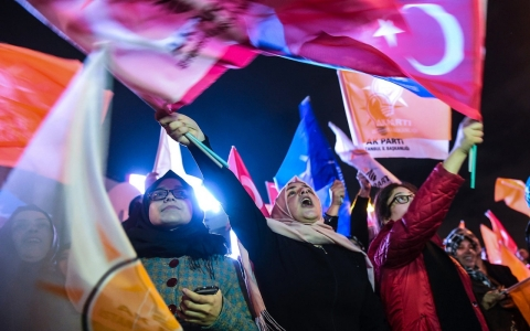 Thumbnail image for Turkey's Erdogan hails ruling party win as 'vote for unity and integrity'