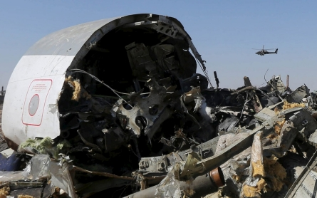 Russia jet crash probed amid conflicting remarks on 'external' factors