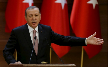 Erdogan says Syria's Assad, not Turkey, backing ISIL