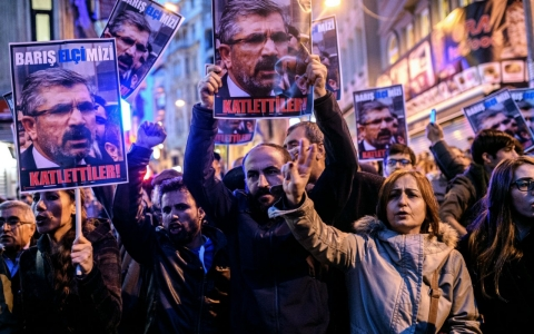 Thumbnail image for Killing of prominent pro-Kurdish lawyer sparks protests in Turkey
