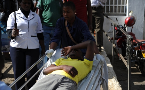 Thumbnail image for Mock attack on Kenyan university causes panic, ends in death