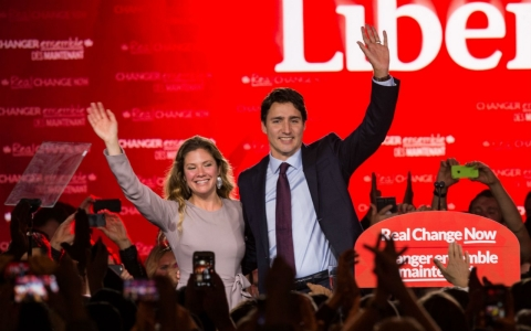 Thumbnail image for Canada's Trudeau keeps promise to implement gender parity in Cabinet