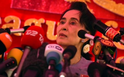 Thumbnail image for Myanmar's Suu Kyi eyes post 'above the president'