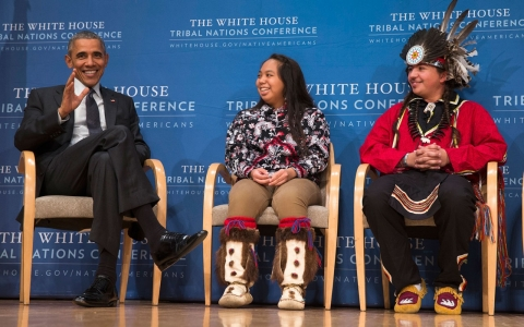 Thumbnail image for Native Americans see mixed educational success despite Obama initiatives