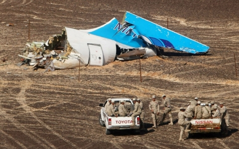 Thumbnail image for Investigators '90 percent sure' Russian jet was downed by a bomb