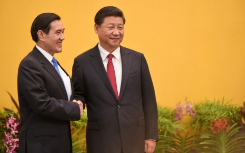 Thumbnail image for China and Taiwan presidents meet for first time