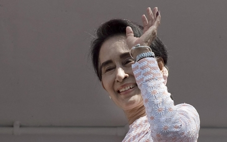 Myanmar ruling party concedes defeat as Suu Kyi's party heads for big win