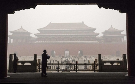 Pollution forces Beijing students indoors