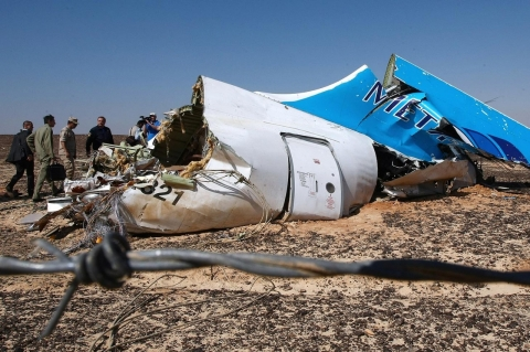 Thumbnail image for No evidence of terror link in Russian jet crash over Sinai, says Egypt