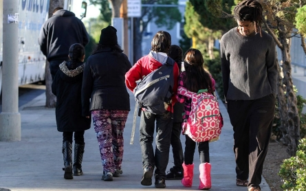 Thousands of Los Angeles parents cope with school shutdown