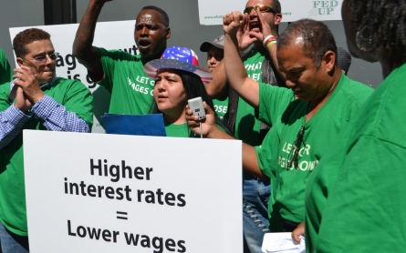 Ahead of likely Fed interest rate hike, low-wage workers worry