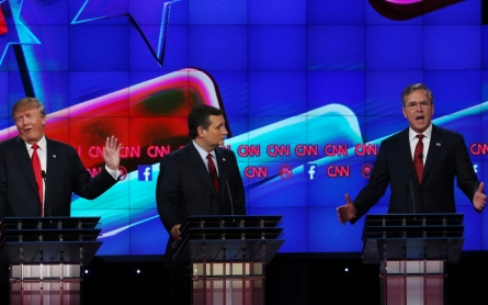 For Republican debate, candidates play up fear itself