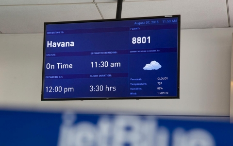 Thumbnail image for US and Cuba reach understanding on restoring commercial flights