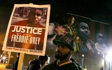 Baltimore awaits new trial date for officer in Freddie Gray case