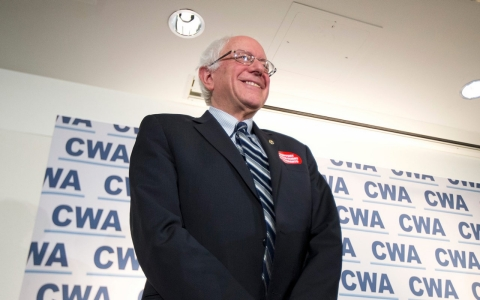 Thumbnail image for Bernie Sanders wins his largest union endorsement of campaign