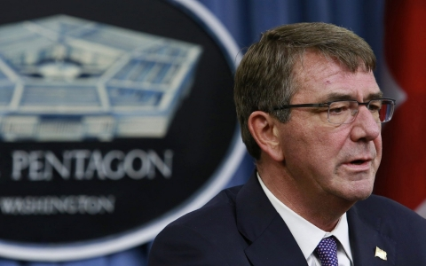 US defense chief in Afghanistan to review security as violence rises