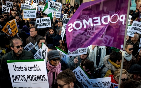 Thumbnail image for Spain's lost generation pins its hopes on political revolt