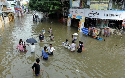 Thumbnail image for 'No respite': Record downpours flood south India with more rain predicted
