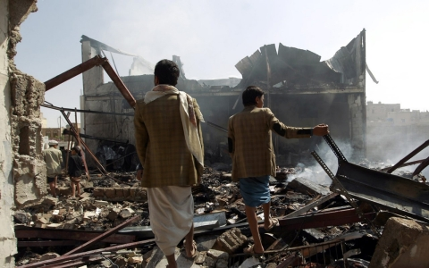 Thumbnail image for UN blames Saudi-led coalition for most attacks on Yemen civilians